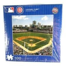 Chicago Cubs Puzzle - 100 piece - 1