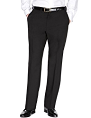 Active Waistband Crease Resistant Flat Front Trousers