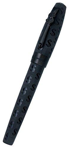 plume-montegrappa-fortuna-cah-resine-noire-attributs-ruthenium-b