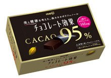 明治 チョコレート効果 カカオ95% 60g