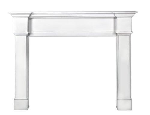 Pearl Mantels 550-48 Richmond 48-Inch Fireplace Mantel Surround with Medium Density Fiberboard, White