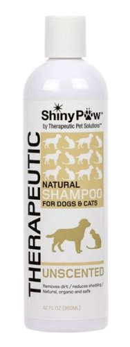 Shiny Paw® Unscented All-Natural Therapeutic Shampoo For Dogs & Cats - 12 Oz front-929348
