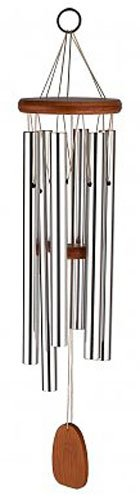 Cannon MCC350 Large Round Wood Top Wind Chime