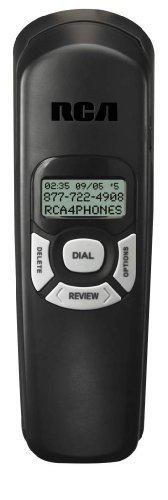 Rca 11041Bkga Black Corded Phone Slim Line Caller Id Waiting