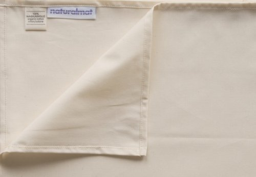 Natural Mat Organic Cotton Percale Fitted Sheet