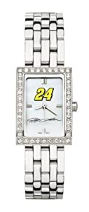 Logoart Jeff Gordon Ladies Allure Stainless Steel Watch by Nascar Officially Licensed
