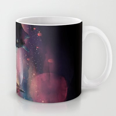 Society6 - Black Cat Big City Coffee Tea Mug By Dan Elijah G. Fajardo