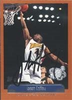 Jason Caffey Golden State Warriors 1999 Topps Tipoff Autographed Hand Signed Trading... by Hall of Fame Memorabilia