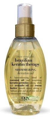Ogx Brazilian Keratin Therapy Shimmering Oil 4oz