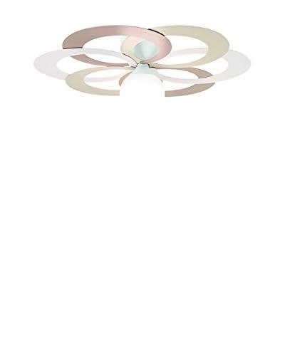 Gibas wand en plafond lamp Olympia veelkleurige