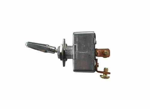 Jt&T Products (2913F) - 50 Amp @ 12 Volt - S.P.S.T. , Heavy Duty On/Off All Metal Toggle Switch With Two Screw Terminals