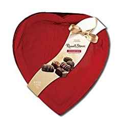 Russell Stover Chocolates 9272 26oz Red Foil Assorted Heart