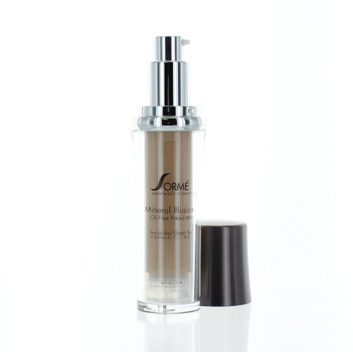 Sorme Cosmetics Mineral Illusion Foundation, Beige Nude, 0.8 Ounce