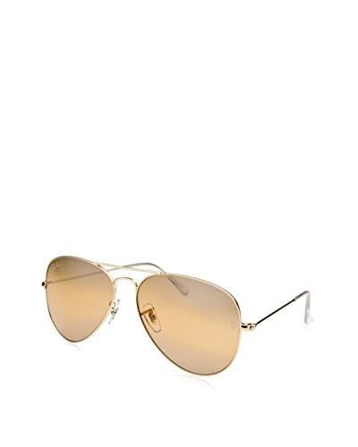 Ray Ban Women's RB3025-001-4F Aviator Sunglasses, Gold-Tone