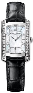 NEW BAUME & MERCIER HAMPTON MILLEIS LADIES WATCH 8745