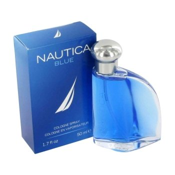 Nautica Blue Eau De Toilette Spray for Men, 3.4
