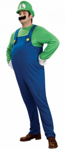 Costumes for all Occasions RU889231SM Luigi Deluxe Adult Small