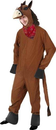 Unisex Adult Horse Halloween Costume (Size: Large)