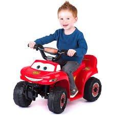 disney pixar cars quad 6 volt battery powered