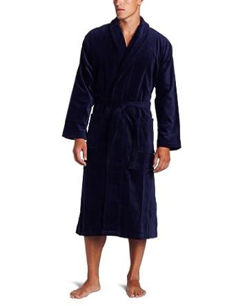 Derek Rose Men S Terry Velour Robe At Amazon Men S