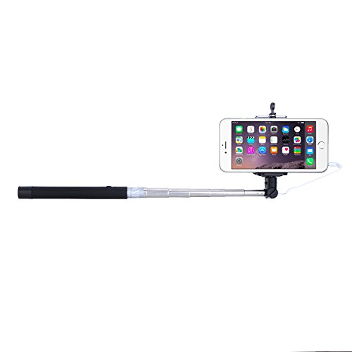 minisuit selfie stick battery free for apple android with wire earphone jack connector electronics. Black Bedroom Furniture Sets. Home Design Ideas