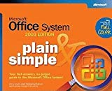 img - for Microsoft Office System Plain & Simple 2003 3RD EDITION [PB,2003] book / textbook / text book