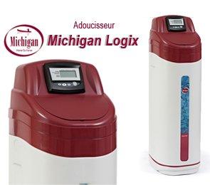 adoucisseur d 39 eau compact michigan logix 30 litres amazon. Black Bedroom Furniture Sets. Home Design Ideas