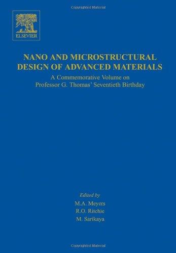 Nano And Microstructural Design Of Advanced Materials