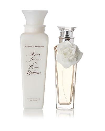 Adolfo Dominguez Set 2 pezzi Agua Fresca De Rosas Blancas (Eau De Toilette Donna+Body Lotion)