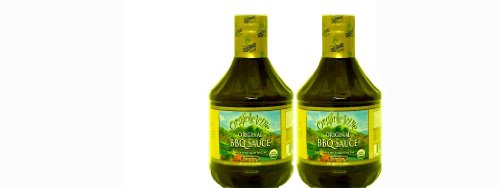 Organicville Organic BBQ Sauce Original Gluten Free 35oz 2Pk