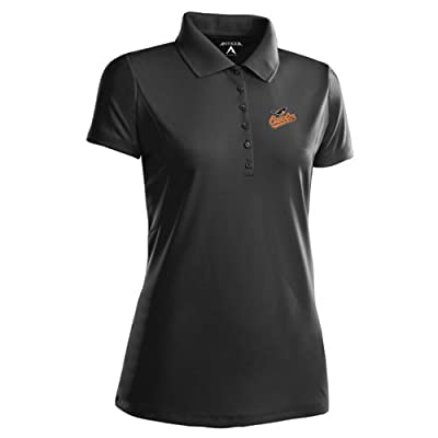 Antigua Women's Baltimore Orioles Pique Xtra-Lite Desert Dry Moisture Management