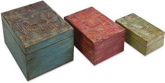 Imax Circus Boxes, Set Of 3