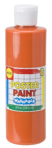 ALEX Toys Artist Studio Orange Washable Poster Paint 8 Ounce