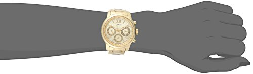 GUESS Women's U0330L1 Gold-Tone Stainless Steel