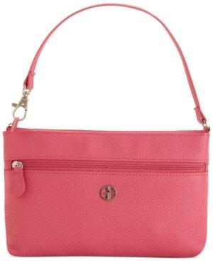 giani-bernini-womens-leather-pebbled-wristlet-handbag-pink-small
