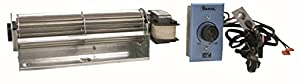 Fireplace Blower for Regency, National Gas, Travis, Heatilator; Rotom Replacement # R7-RB39