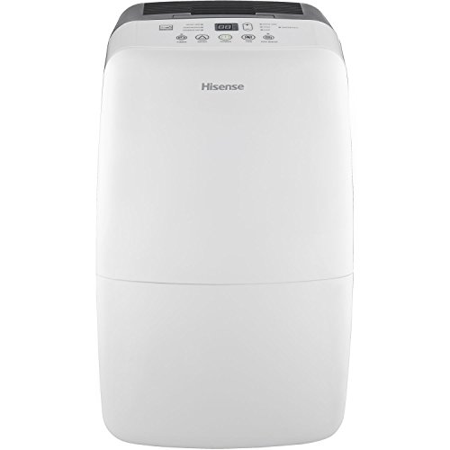 Hisense DH-50KP1SDLE Energy Star 50-Pint 2-Speed Dehumidifier with Built-In Pump (Energy Star Dehumidifier compare prices)