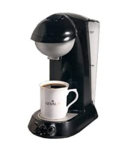 Amazon.com: Gevalia Coffee & Tea Pod Brewer, Black: Kitchen & Dining