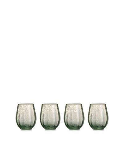 Fifth Avenue Set of 4 Riley 18-Oz. Stemless Wine Glasses
