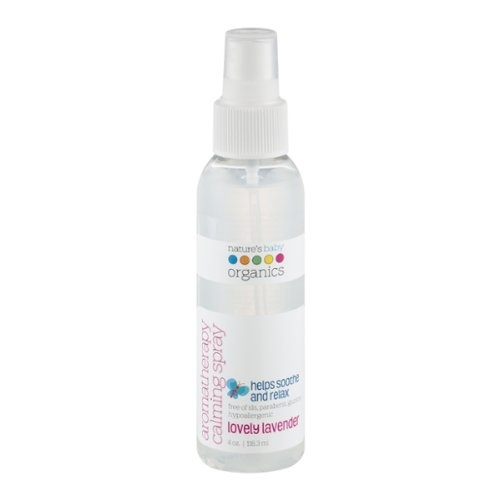Nature's Baby Organics Aromatherapy Calming Spray, Lovely La