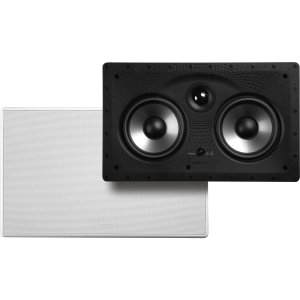 Why Should You Buy Polk Audio Dual 5.25 Two-Way Center Channel In-Wall Speaker - 255c-RT