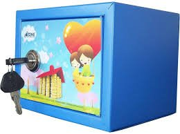 Ozone Portable money bank safe locker for savings