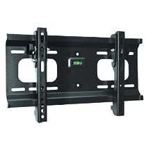 "Ultra-Slim Black Adjustable Tilt/Tilting Wall Mount Bracket for Panasonic TC-32LX70 (TC32LX70) 32"" inch LCD HDTV TV/Television - Low Profile"