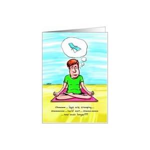 Amazon.com: Yoga Chair : Funny Birthday Card Card: Heal