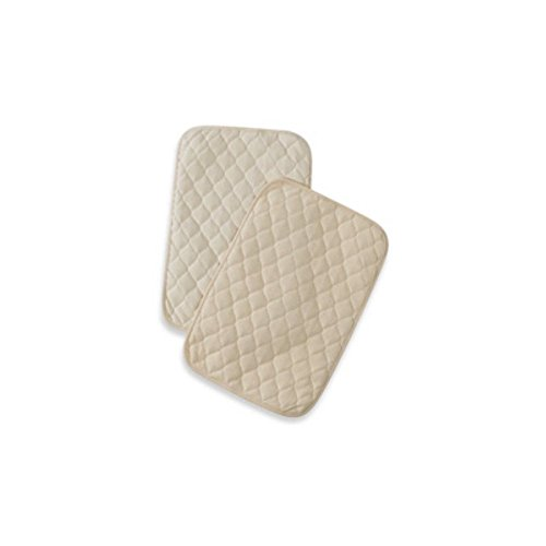 American Baby Company Quilted Lap & Burp Pads - 1