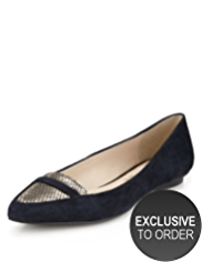 Autograph Suede Water Resistant Loafer Pumps with Insolia Flex®