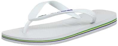 tongs havaianas brasil logo blanc 36