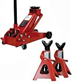 IMAGE OF ATD Tools 3 Ton Hydraulic Floor Jack and Stands
