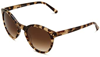 Kate Spade Women's Rory Oval Sunglasses, Matte Camel Tortoise, One Size