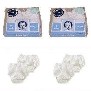 Gerber Plastic Pants, 2T , Fits 28-32 lbs. (4